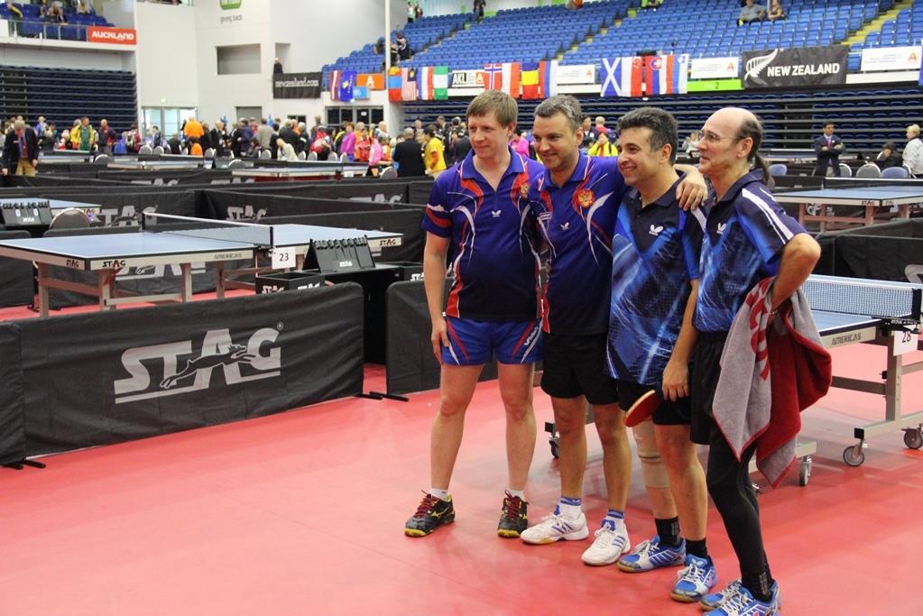 Чемпионат мира по  настольному теннису в Новой Зеландии