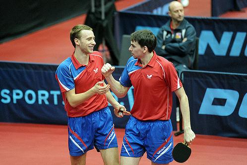 Шибаев и Скачков на чемпионате Европы 2013