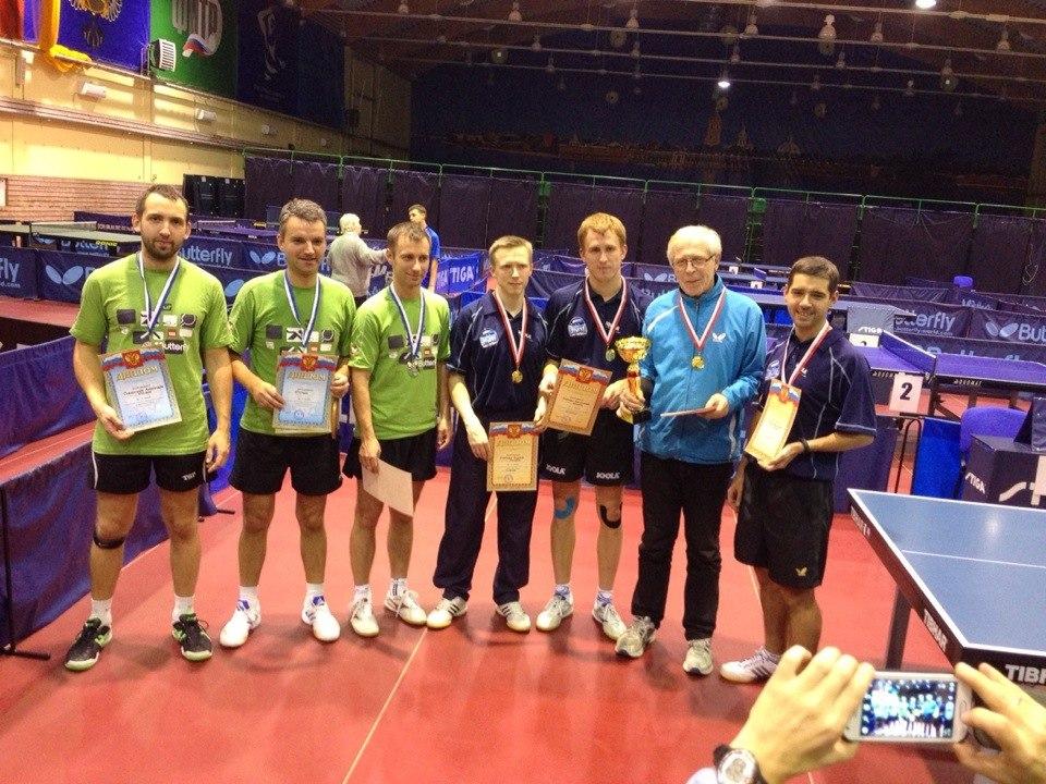 Чемпионат СПб по настольному теннису 2013