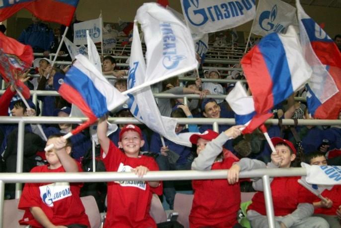Болельщики Факела Газпрома