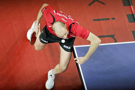 Даниэль Хабесон настольный теннис