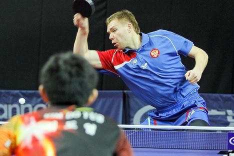 Василий Лакеев на открытом турнире в Венгрии 2014