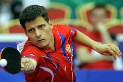 Алексей Смирнов  настольный теннис