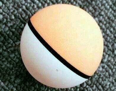 двуцветный мяч для настольного тенниса