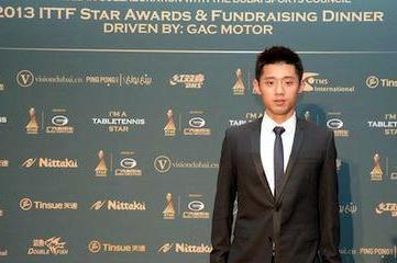 Чжан Цзикэ спортсмен года ITTF