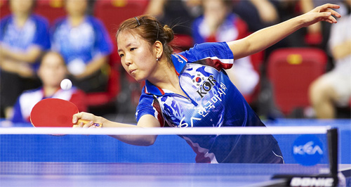 Глаза фанатов настольного тенниса принимающей страны будут сосредоточены на Park Mi Young (Корея)