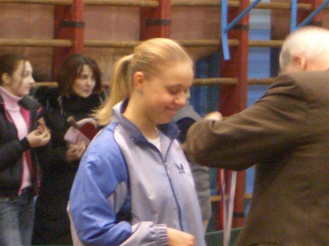 Чемпионка Санкт-Петербурга Трошнева Елена