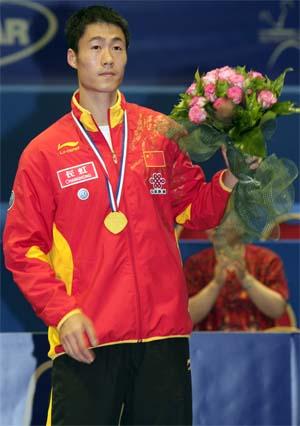 Wang Liqin, финалист личного первенства