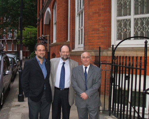 Adham Sharara, Jordi Serra и Alex Murdoch